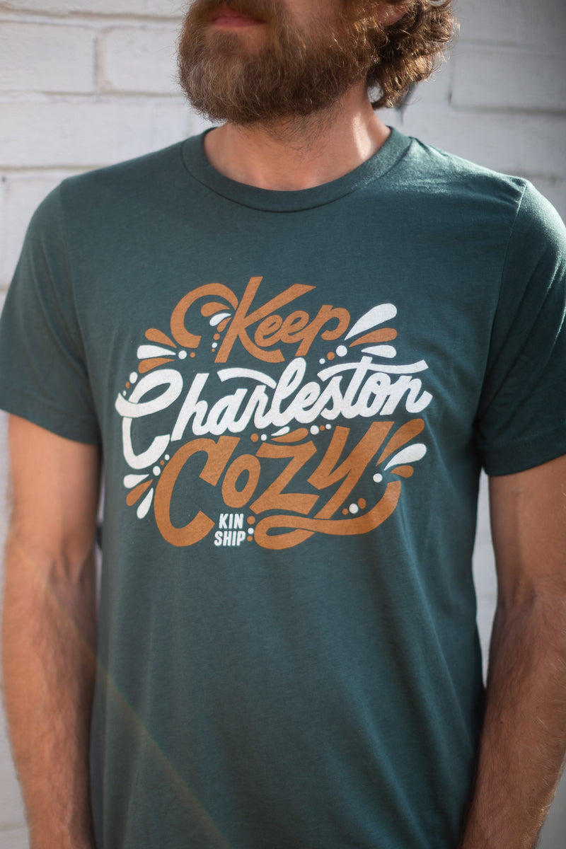 keep charleston cozy tee, final sale