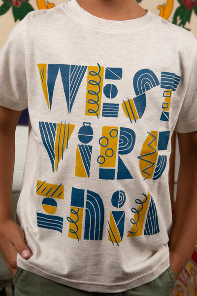mid century kids tee, final sale