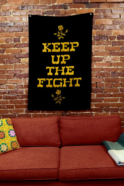 keep up the fight flag