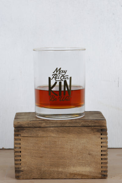 kin lowball glass