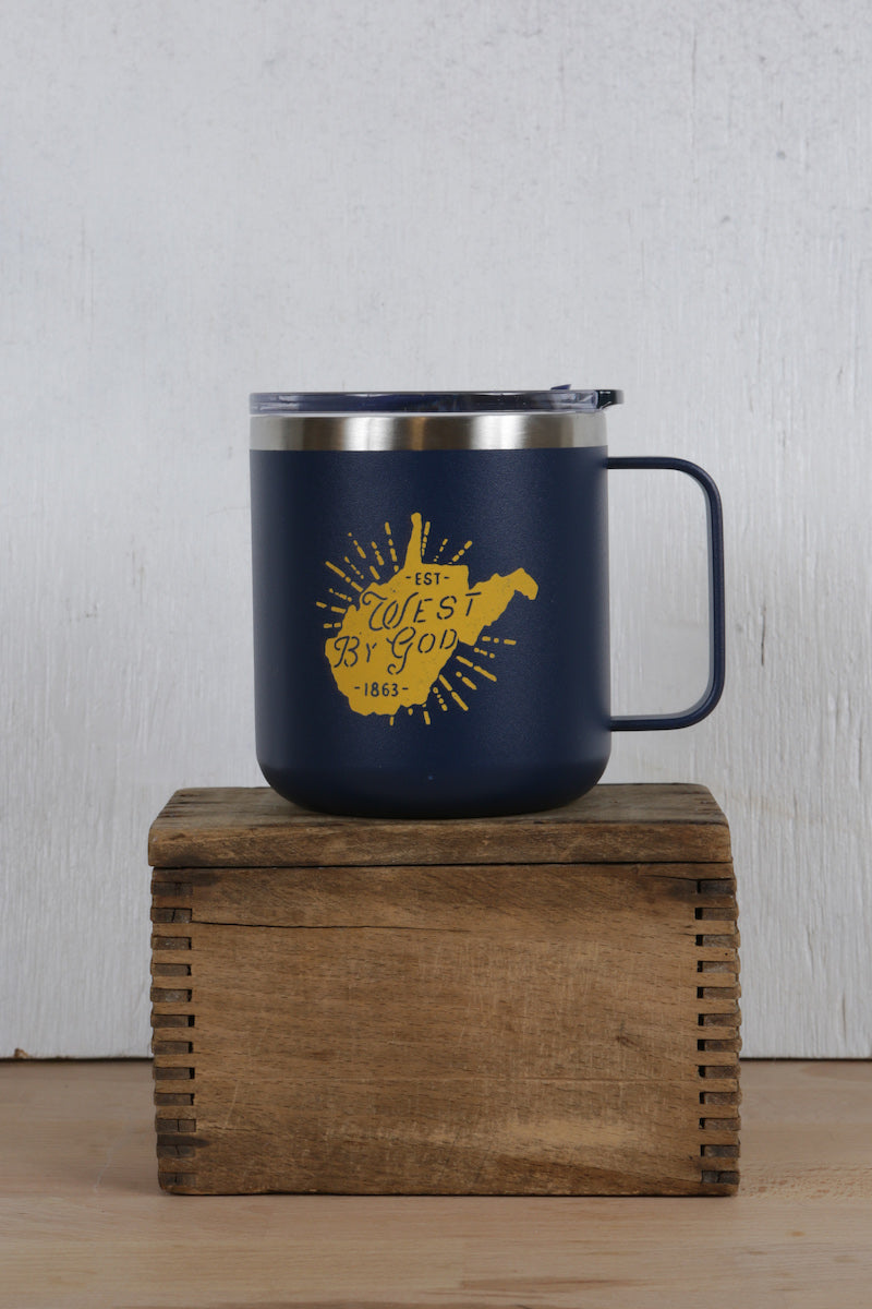 west by god travel mug