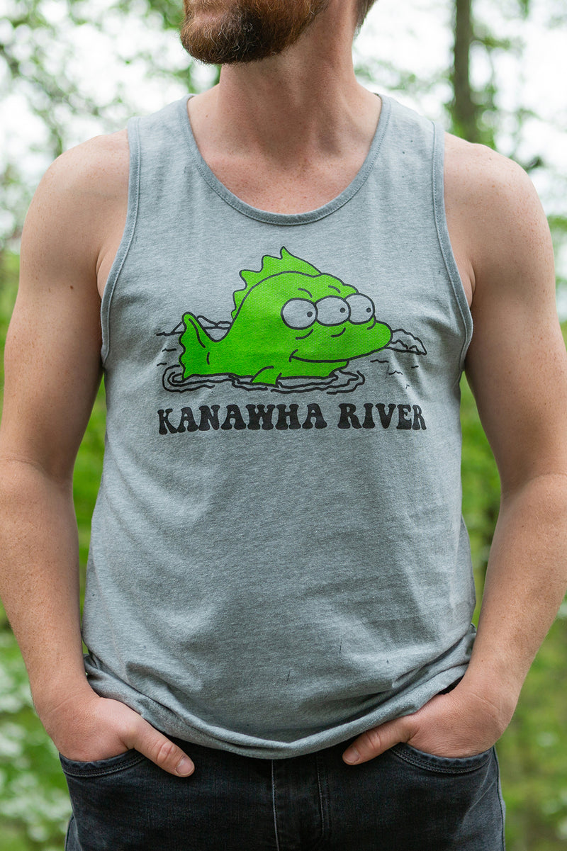 kanawha river unisex tank, final sale