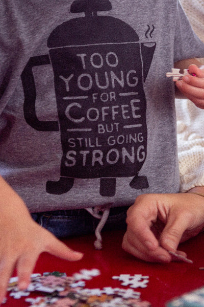 coffee kids tee