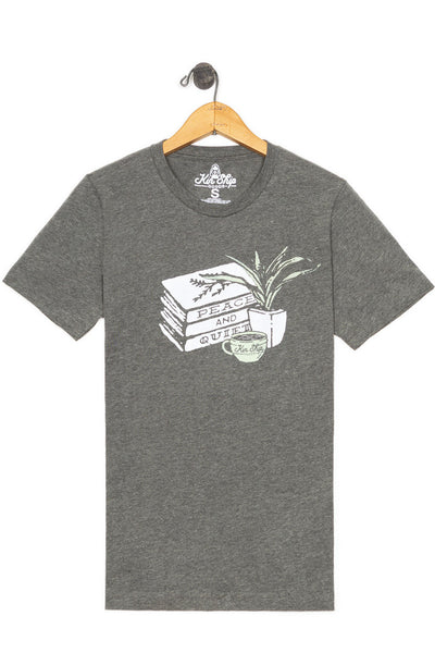 peace & quiet tee, final sale