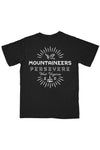 persevere pocket tee, black