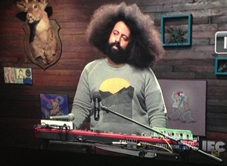 Grey Mountain Sunrise Sweatshirt Reggie Watts