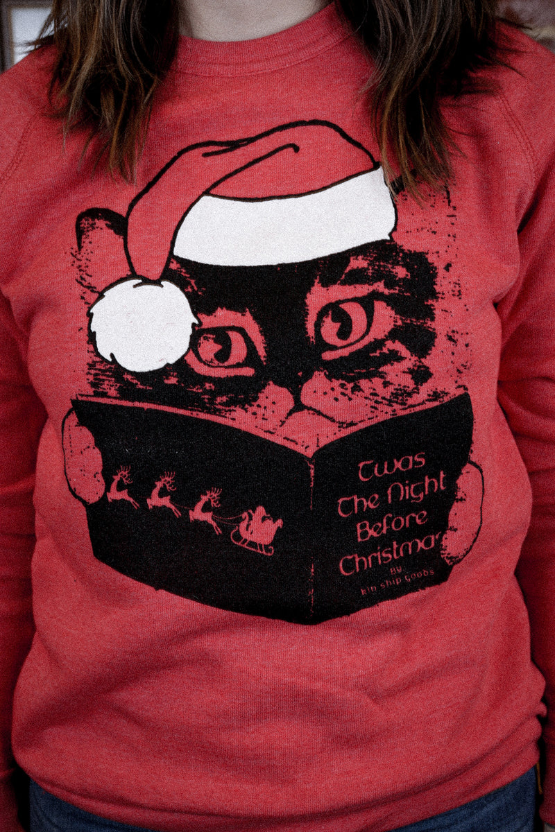 santa claws sweatshirt