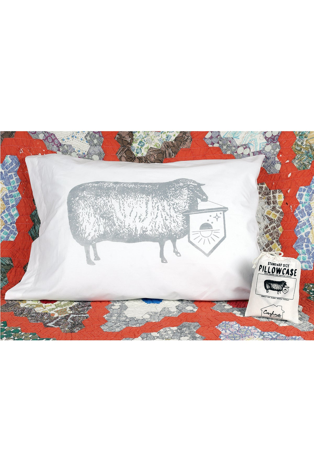 baa baa banner pillowcase, final sale