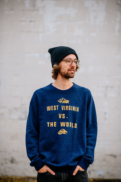wv vs the world sweatshirt