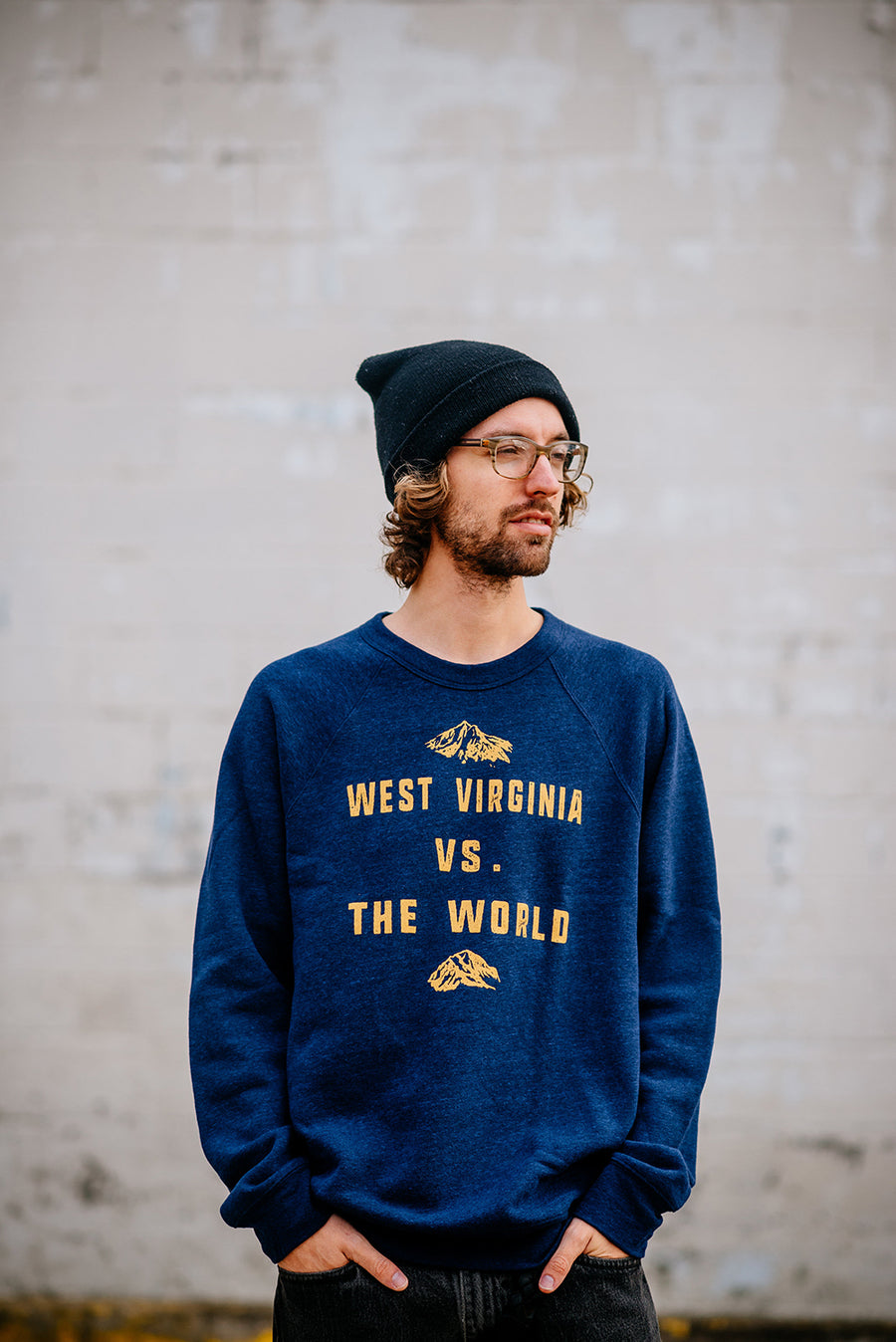 wv vs world sweatshirt, (final sale)
