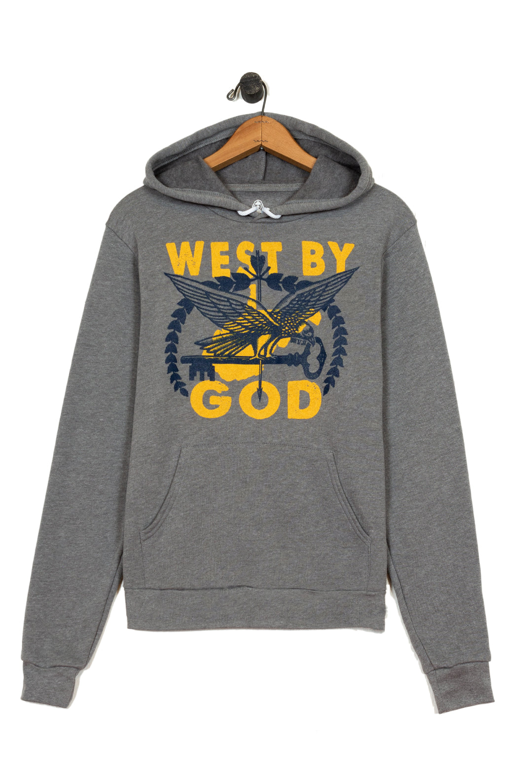 west by god pullover hoodie