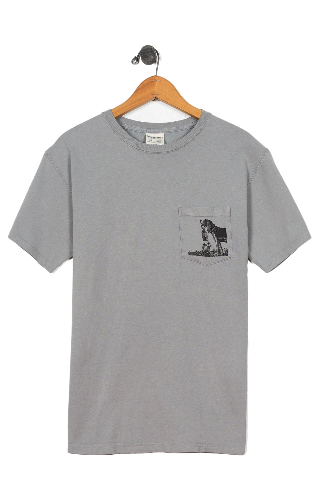 beagle pocket tee