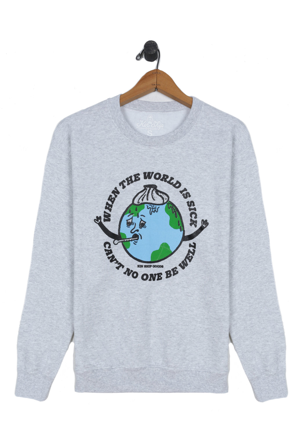 be well sweatshirt, final sale