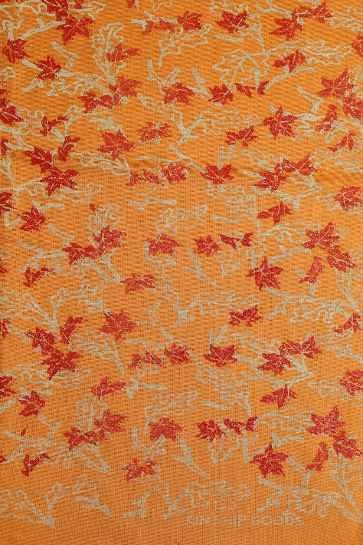 leaves print bandana, final sale