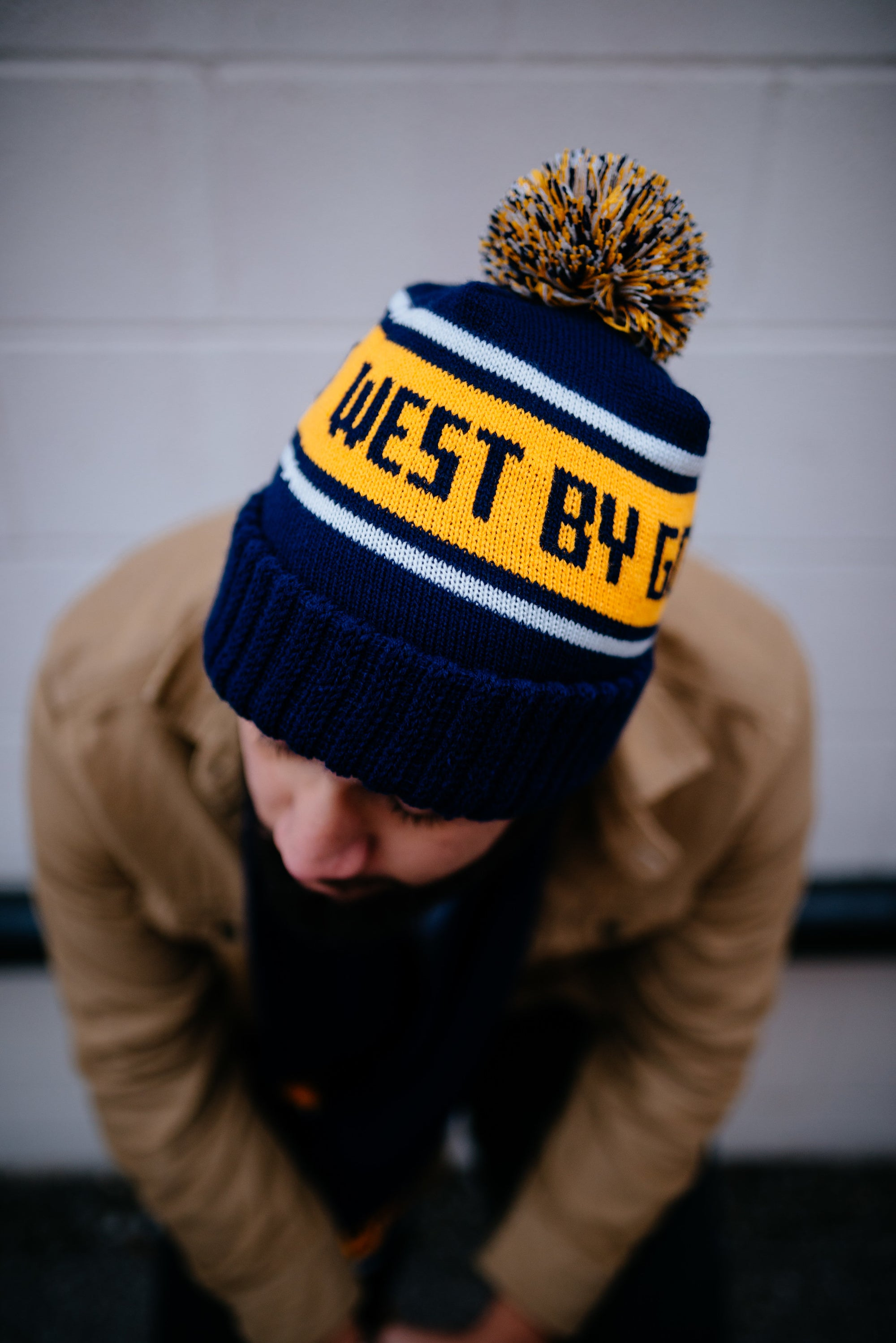west by god pom beanie