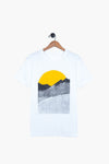 good morning tee, white, final sale