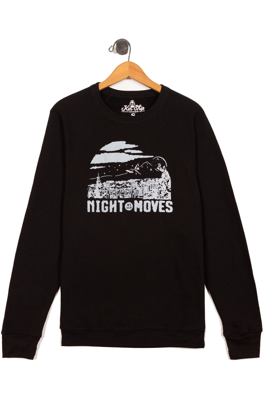 night moves mothman sweatshirt