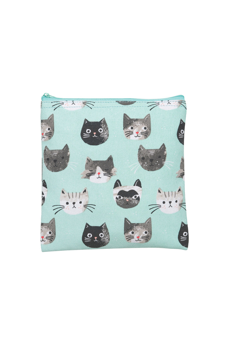 cats meow snack bag set