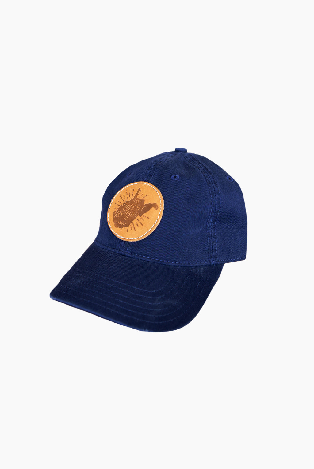 west by god cap, navy