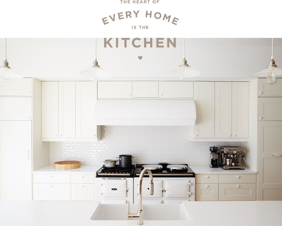 The Heart of Every Home is the Kitchen