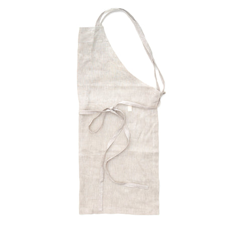 Women's Natural Linen Apron