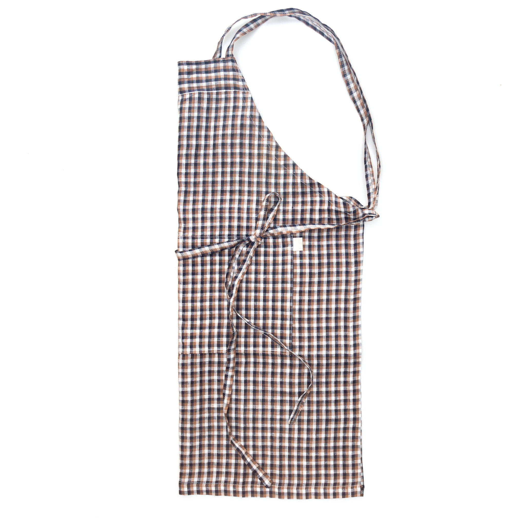 Women's Lightweight Check Cotton Apron