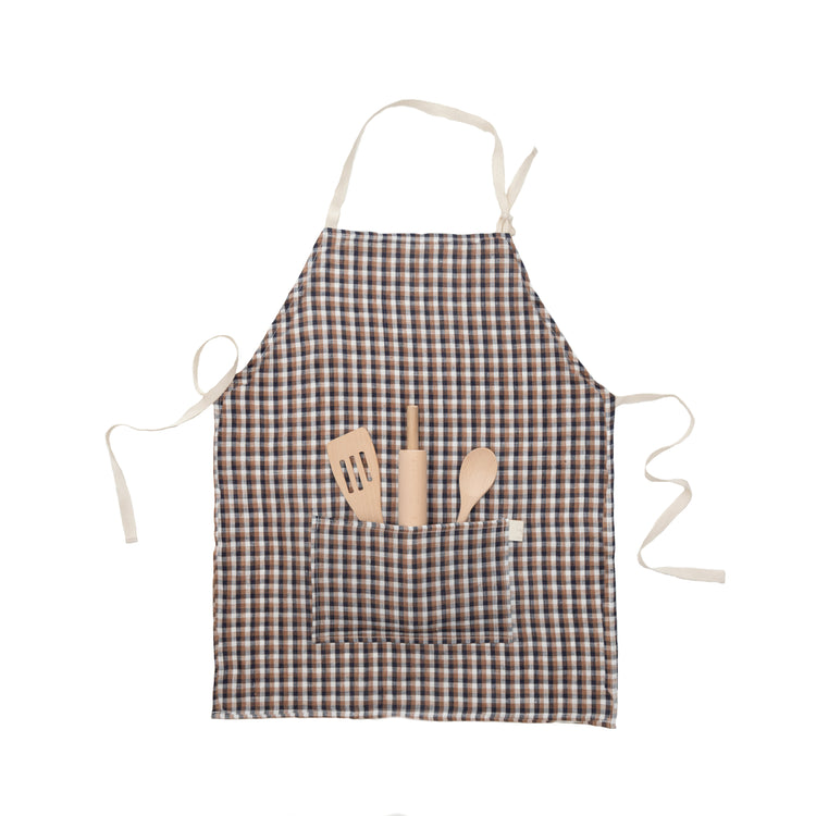 Kids Apron- Check Apron