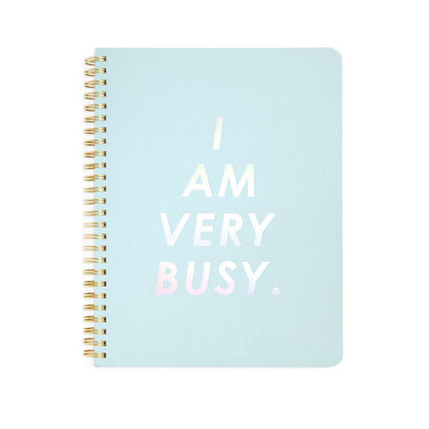 Ban.do Spiral Notebook I Am Very Busy - Neapolitan Homewares