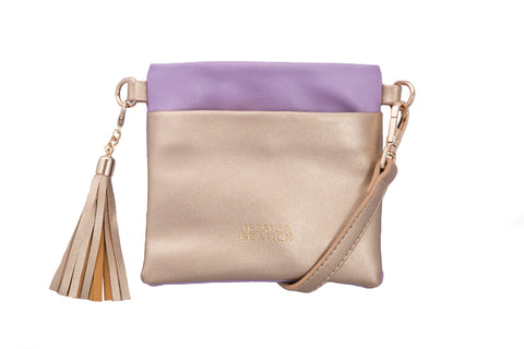 Jessica Bratich Luella Kids Bag - Purple/Gold - Neapolitan Homewares