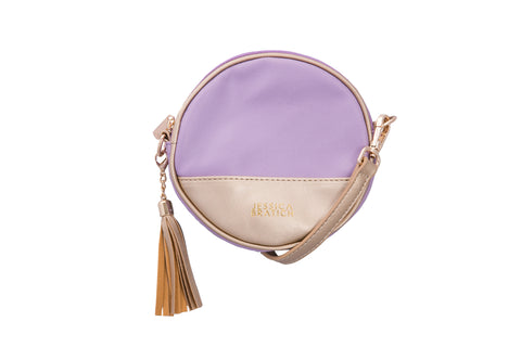 Jessica Bratich Rubika Kids Bag - Purple/Gold - Neapolitan Homewares