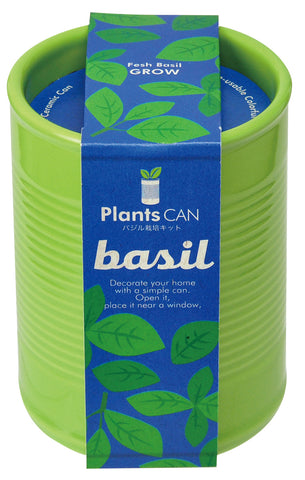Eggling Plant Can - Basil