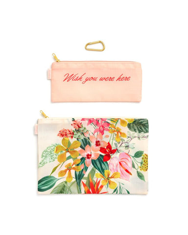 Ban do Carry All Duo Pouches Paradiso - Neapolitan Homewares