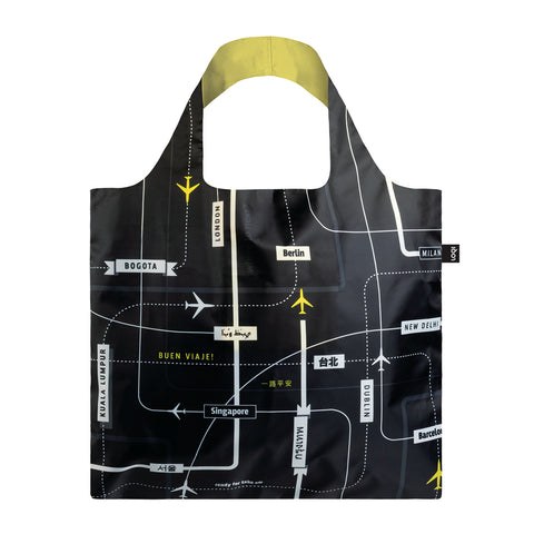Loqi Shopping Bag - Airport Departures - Neapolitan Homewares