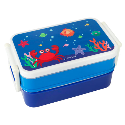 SunnyLife Kids Bento Box - Under the Sea - Neapolitan Homewares