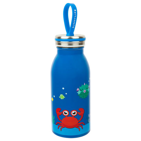SunnyLife Kids Water Bottle Flask - Crabby-SunnyLife-Neapolitan Homewares
