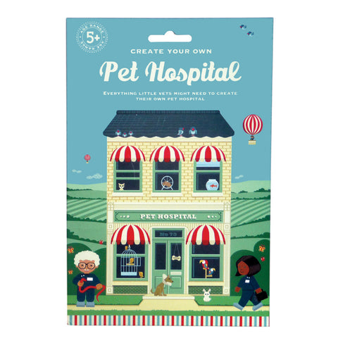 Create Your Own Pet Hospital Puzzle - Neapolitan Homewares