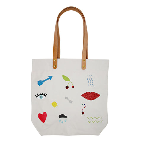Meri Meri Tote Bag Icons - Neapolitan Homewares