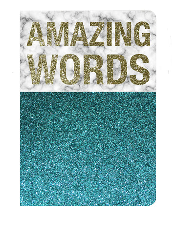 The Cool Company Notebook - Amazing Words-The Cool Company-Neapolitan Homewares