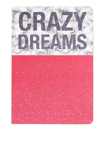 The Cool Company Notebook - Crazy Dreams - Neapolitan Homewares