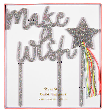 Meri Meri Make A Wish Cake Topper