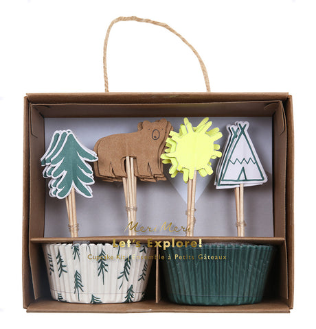 Meri Meri Woodland Cupcake Set Kit - Neapolitan Homewares