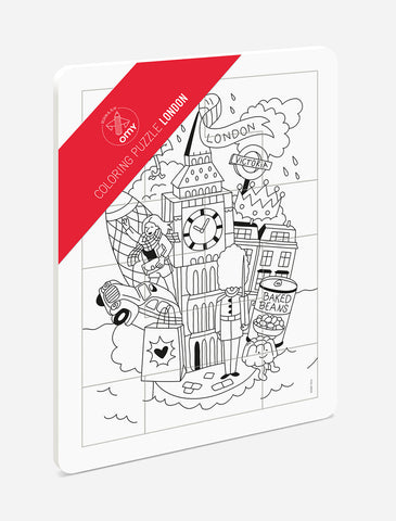OMY Design & Play Colouring Puzzle