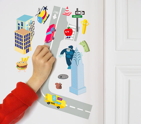 OMY Design & Play Wall Stickers