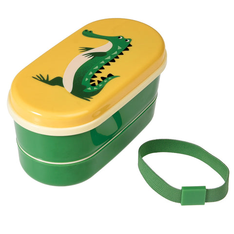 Rex London Bento Box - Crocodile - Neapolitan Homewares