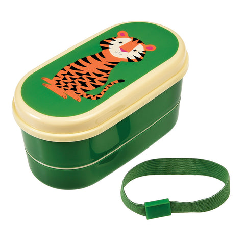 Rex London Bento Box - Tiger - Neapolitan Homewares