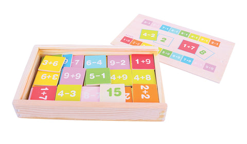 Bigjigs Toys - Add and Subtract Box - Neapolitan Homewares