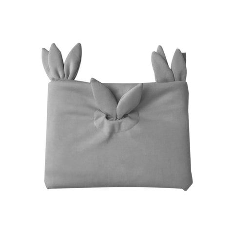 Spinkie Bunny Ears Blankie - Grey - Neapolitan Homewares