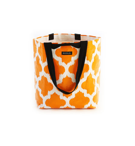 Orange Moroccan Small Tote bag
