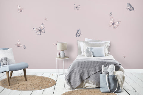 Isla Dream Prints - Wall Decals - Butterfly Blush