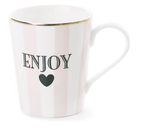 Miss Etoile Large Mug Enjoy - Neapolitan Homewares